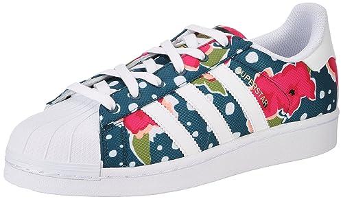 Opinión asqueroso diario  Buy Adidas ORIGINALS Boy's Superstar J Ftwwht, Shopin and Tecgrn Leather  Sneakers - 4 UK/India (36.67 EU) at Amazon.in