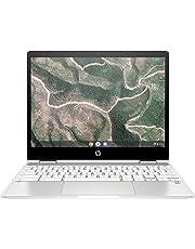 HP Chromebook x360 12b-ca0005nf PC Portable 12'' FHD IPS Blanc (Tactile, Intel® Celeron® N4000, 4 Go de RAM, 32 Go de Stockage, Carte graphique Intel® UHD 600, AZERTY, Chrome OS)