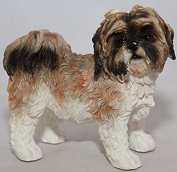 Brown Shih Tzu Dog Ornament