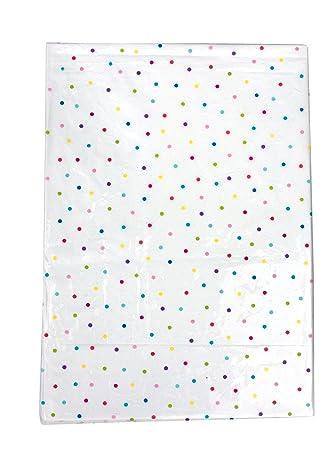 mantel lavable para mesa de fiesta de x cm blanco con