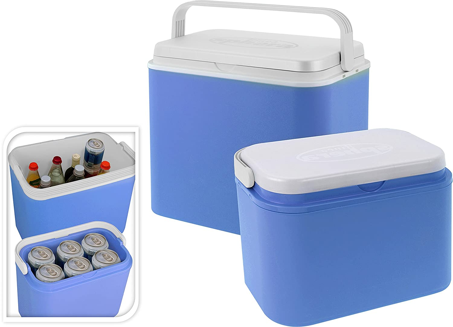 10 Litre 10 or 24 Litre Family Insulated Cool Box Cooler Party Picnic Beach Travel