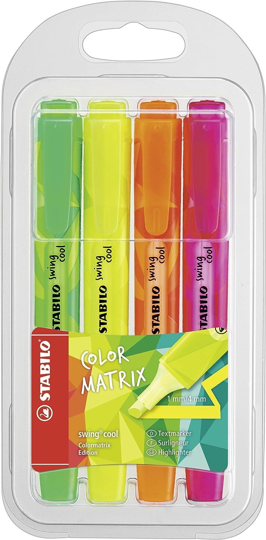 Stabilo Swing Cool Colormatrix - Marcador fluorescente, color ...