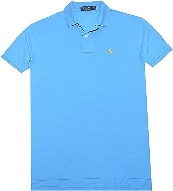 Polo Ralph Lauren Hombre Camisa de Polo Classic Fit Malla: Amazon.es: Ropa y accesorios