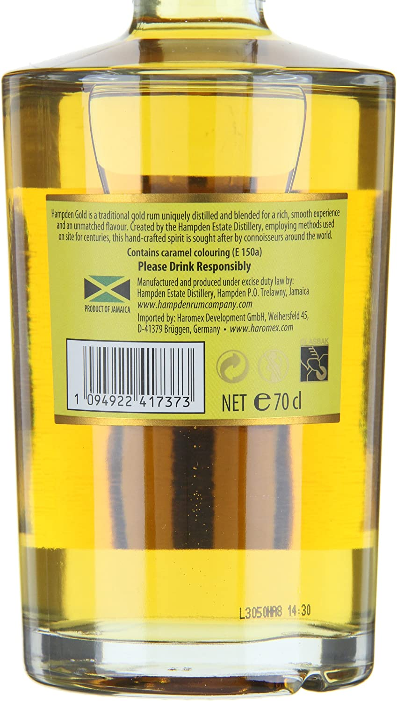 Hampden Estate Oro Rum (1 x 0,7 l)