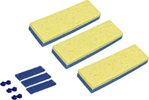 Quickie Automatic Sponge Mop Refill 3 pack