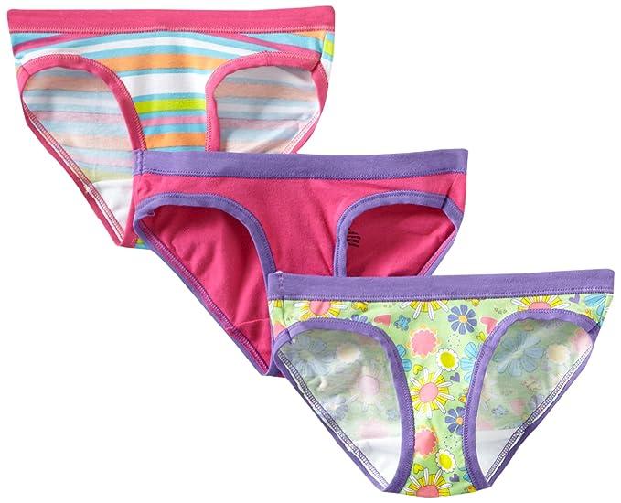 94de1cd21c77d Amazon.com  Hanes Ultimate Girls  3-Pack Stretch Hipster Panties ...