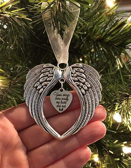 ANGEL WINGS ANGEL COLOUR ANGEL CHARM MEMORIAL KEEPSAKE HANGING DECORATION