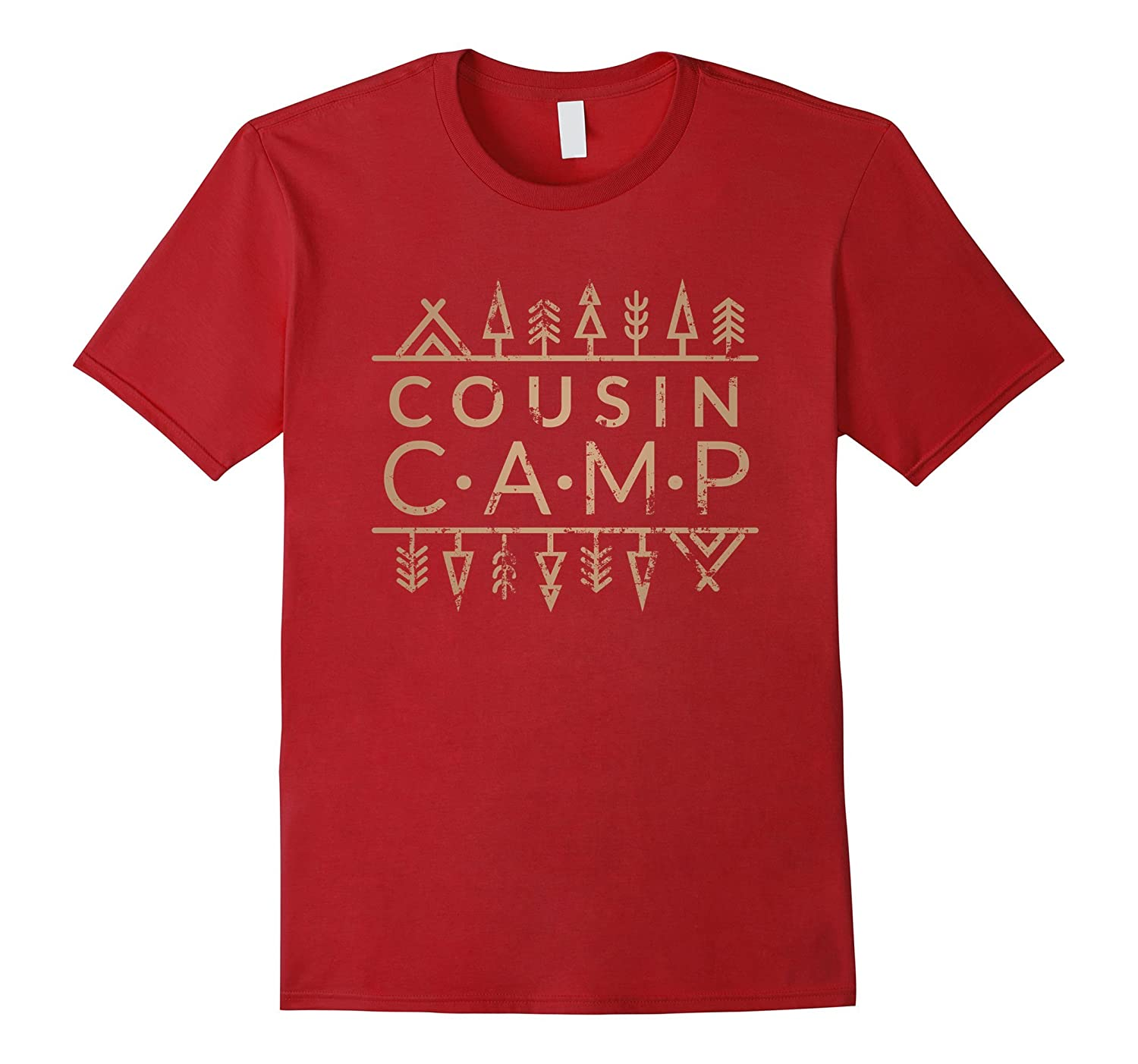 Vintage Family Camp T-Shirt  Cousin CAMP
