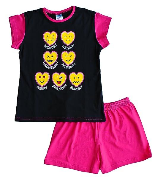 ThePyjamaFactory - Pijama - para niña rosa rosa 11-12 Años
