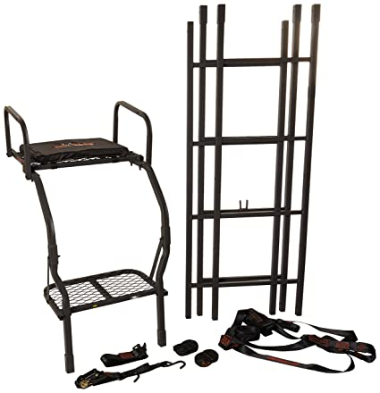Amazon Big Game Warrior Pro Ladderstand Ls0100 Sports Outdoors