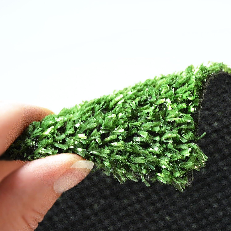 Rasenteppich Gesamth/öhe 7 mm 1400 gr Gesamtgewicht Rasenteppich 100 cm x 200 cm