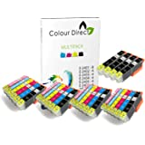 28 (4 Impostatos + 4 Nero ) Colour Direct Compatibile Cartucce d'inchiostro Sostituzione Per Epson Expression Foto XP-55 XP-750 XP-760 XP-850 XP-860 XP-950 XP-960 24XL