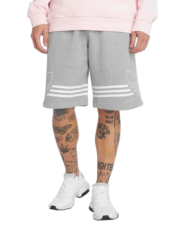 TALLA S. adidas Outline Pantalón Corto, Hombre, brgrin, S