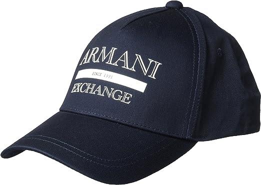 Armani Exchange GORRA NAVY T-TU: Amazon.es: Ropa y accesorios