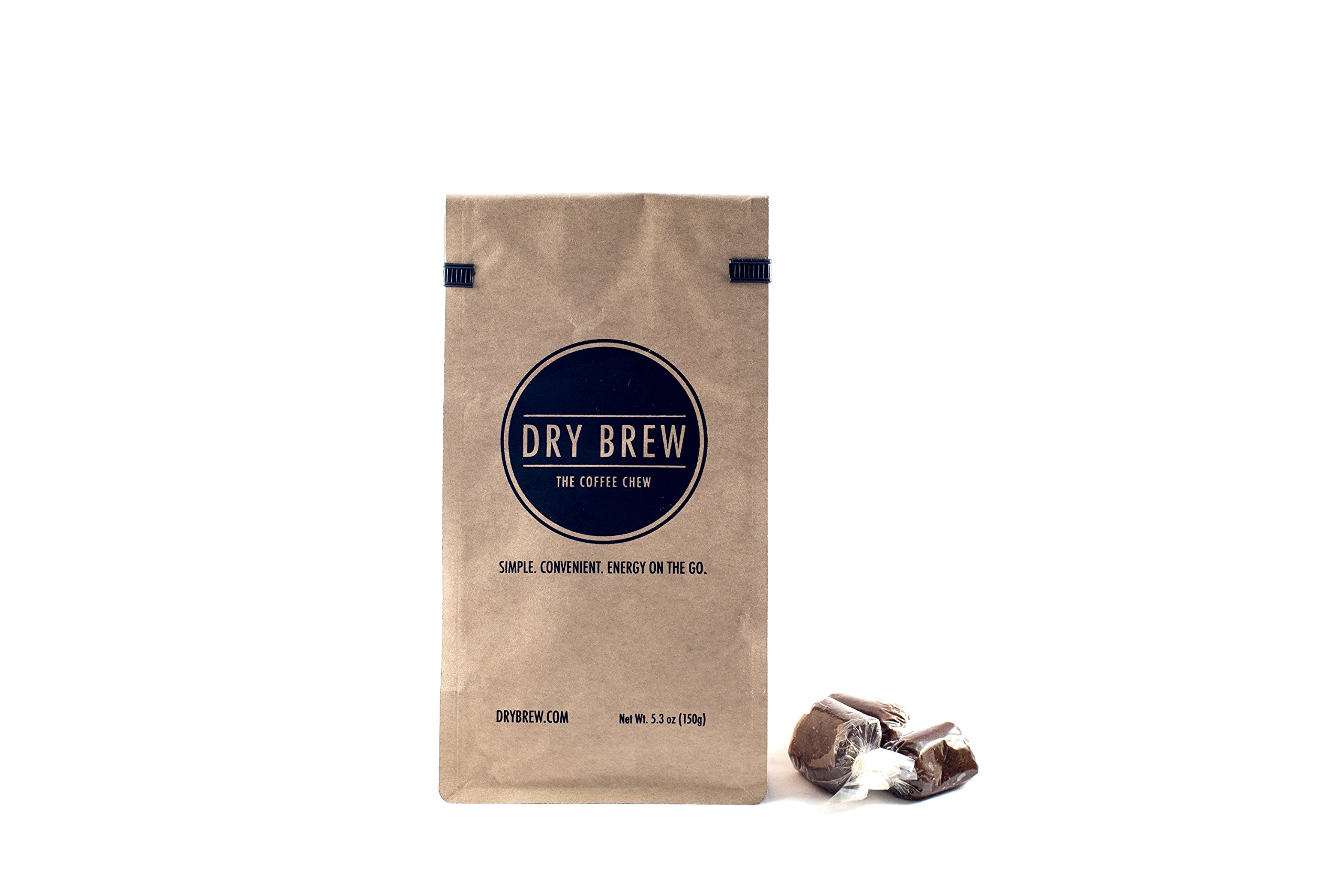 Dry Brew Coffee Chews - Patented Chewable Coffee (15pcs/pack)