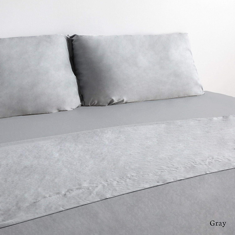 Coop Home Goods - Solstice Luxury Sheet Set - All Season - Hypoallergenic - Oeko-TEX Certified – King – Gray