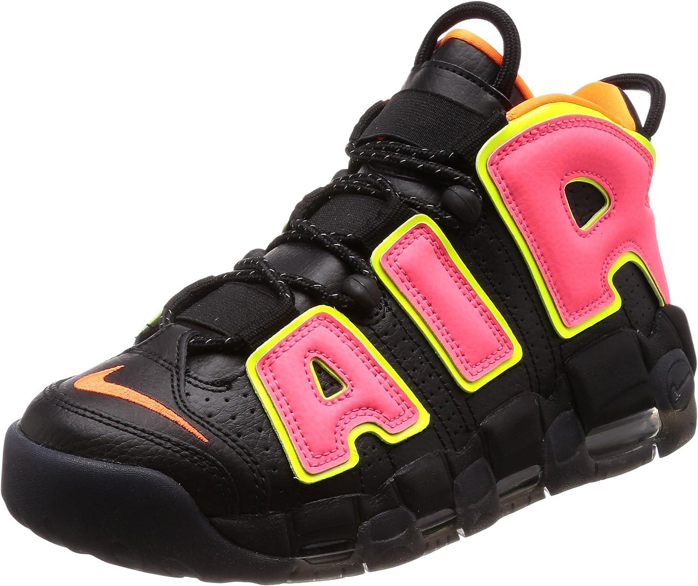 rociar Rugido Movimiento  Amazon.com | Nike Air More Uptempo Women's Sneakers 917593-002 (8 B(M) US)  | Fashion Sneakers