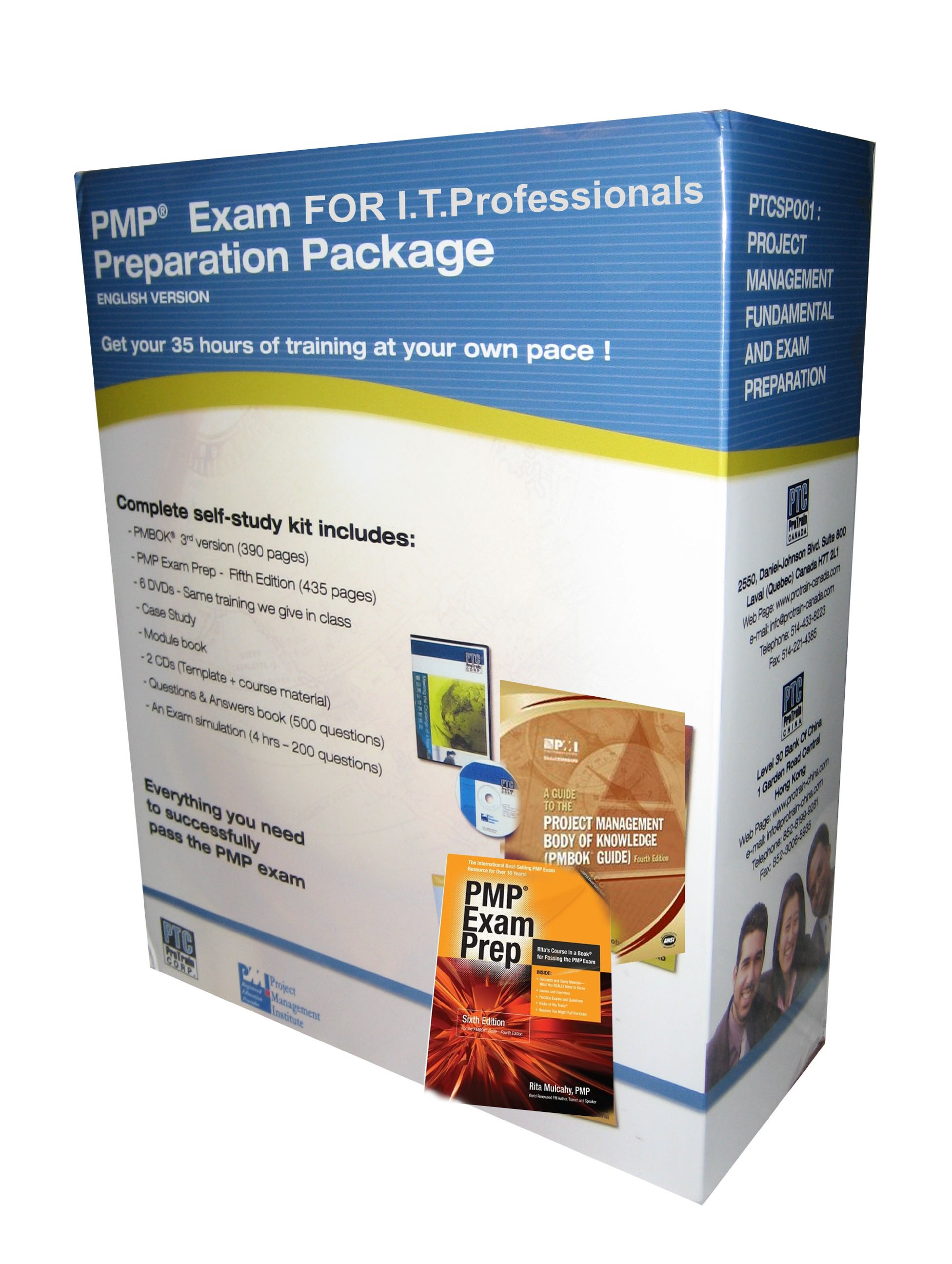 Pmp Project Management Professional For It Pmp Exam Preparation