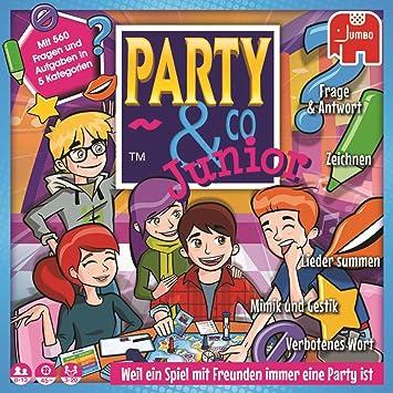 Party & Co. Junior Niños y adultos Juego de mesa de carreras - Juego de tablero (Juego de mesa de carreras, Niños y adultos, 45 min, Niño/niña, 8 año(s), 13 año(s)). Versión