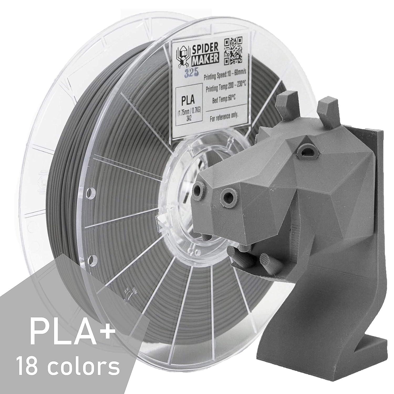 SPIDER MAKER filamento para impresora 3D PLA mate, 1,75 mm, 0,7 kg ...