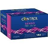 Control Senso Preservativos - Caja de condones con 144 unidades (pack extra grande)