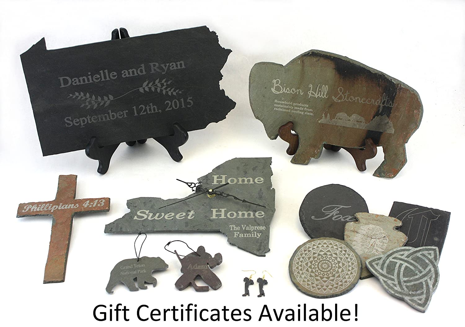 Personalized Memorial for your Pet Custom Chihuahua Slate Ornament