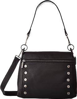 Hammitt Women s Shawn Medium Black Gunmetal One Size  Handbags ... 8510f53db2654