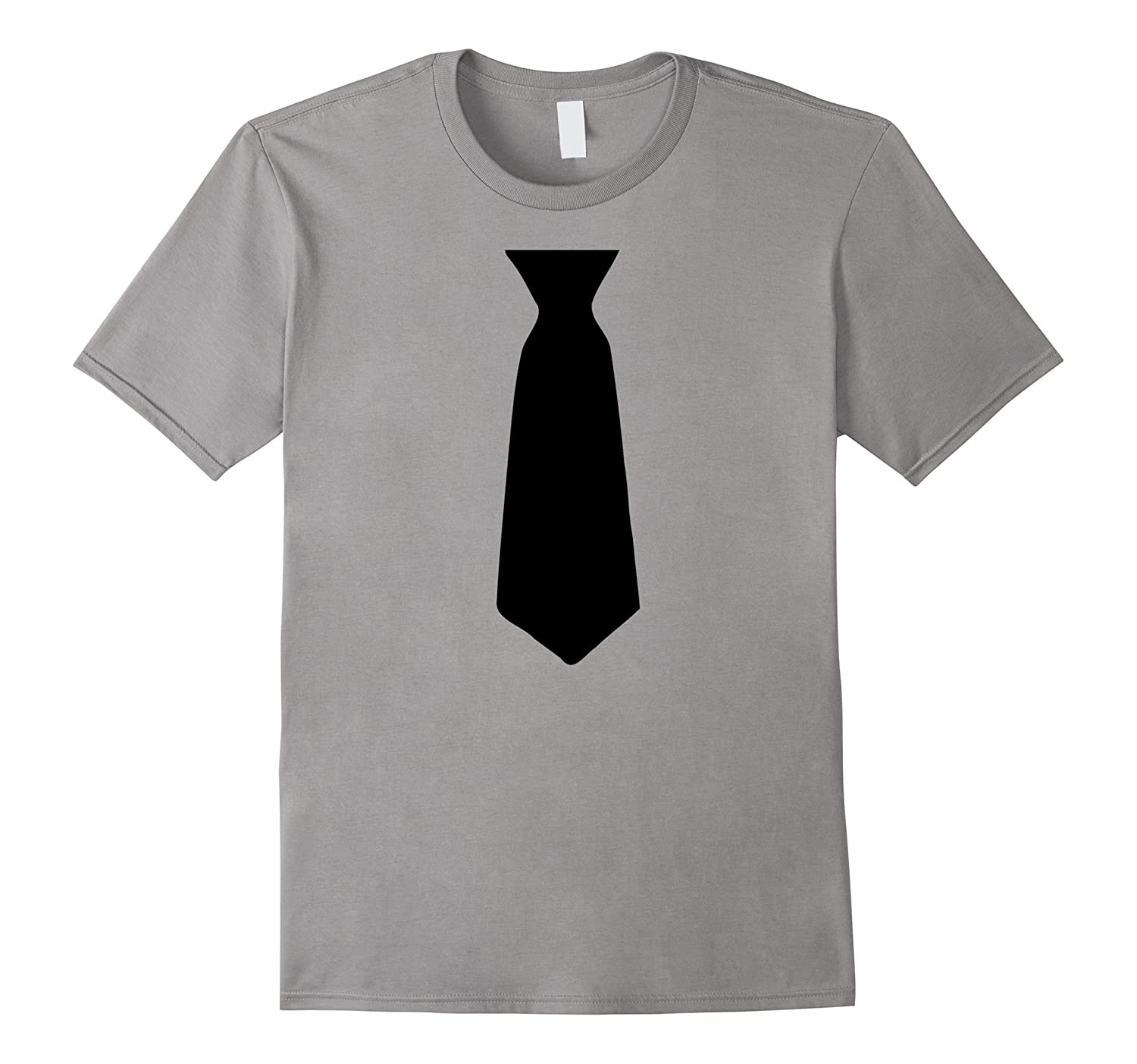Funny Novelty Tie T Shirt - Prom Fancy Dress Costume Party-Vaci