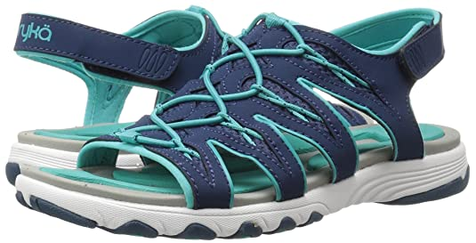 RYKA Women's Glance Athletic Sandal, Blue/Teal, 9 M US