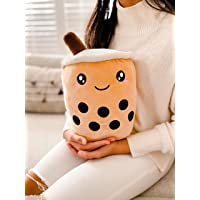 Kenzies Direct Red Plush Happy Face Neck Travel Cushion Pillow Kids Novelty Boys Girls Christmas Xmas Birthday Top Selling Gift Present Stocking Filler