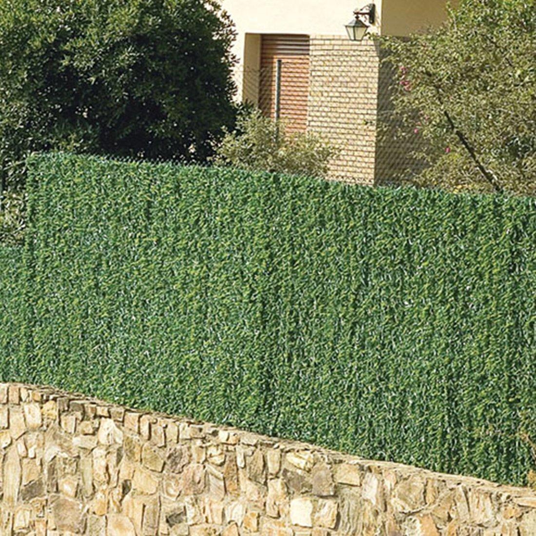greenwitch Künstliche Nadelhecke Kunststoff Sichtschutz Zaun 1 5