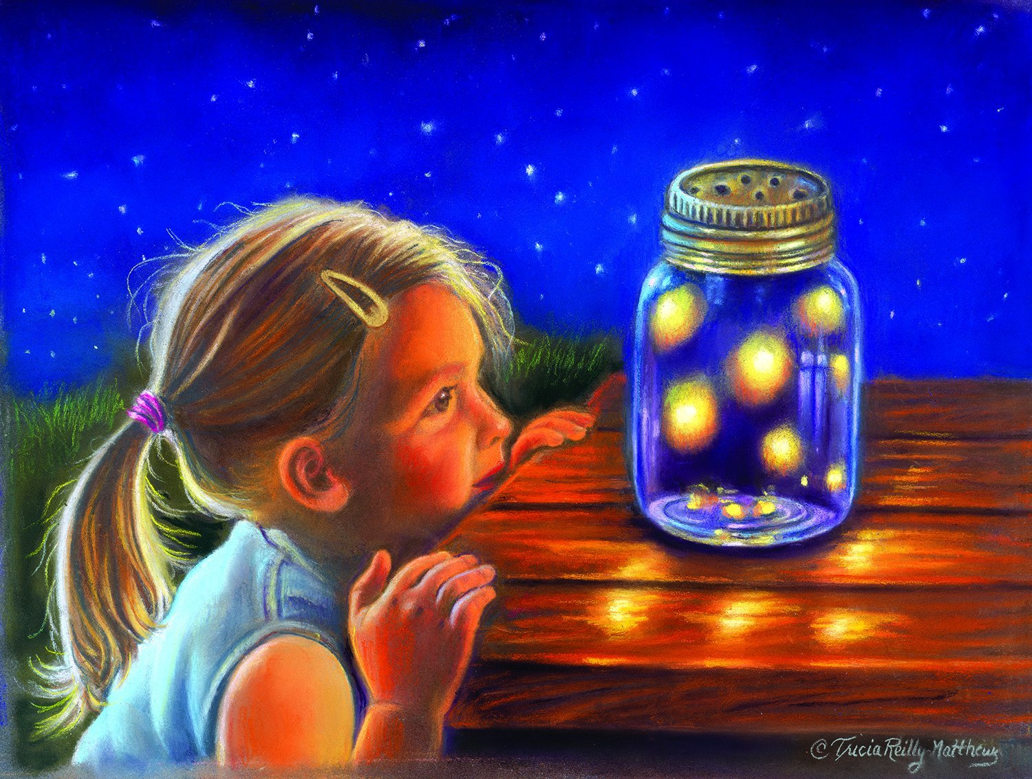 Magical Fireflies 300 pc Jigsaw Puzzle by SunsOut