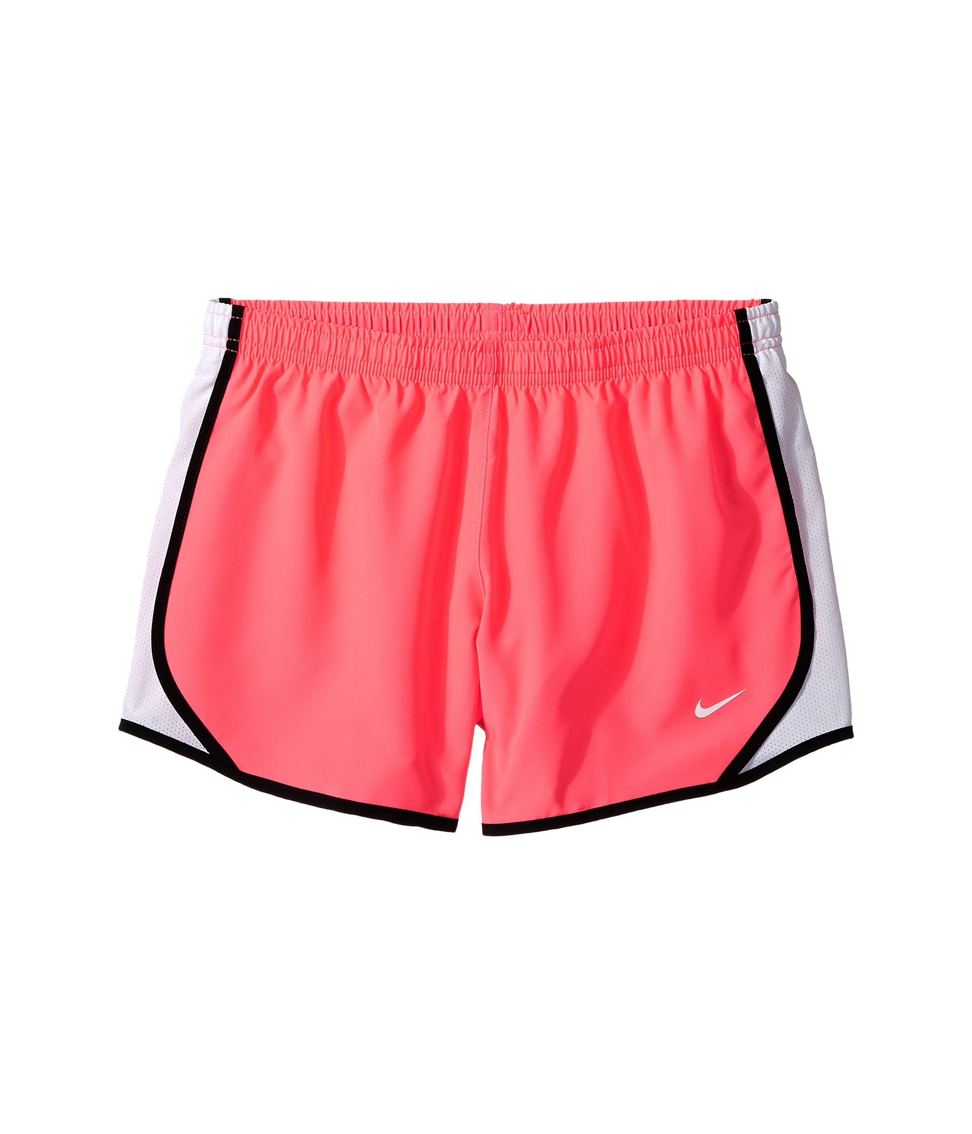 NIKE Girl's Dry Tempo Running Short Racer Pink/White/Black Size Medium