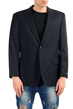 "74c55541 Image Unavailable. Image not available for. Color: Hugo Boss Pasolini/MovieUS_2""  Men's 100% Wool Blazer Sport Coat US ..."