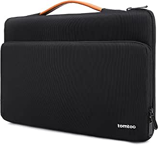 tomtoc 360 Protective Laptop Carrying Case for New MacBook Air 13-inch with Retina Display A1932, 13 New MacBook Pro USB-C A2159 A1989 A1706 A1708, Microsoft Surface Pro X 7 6 5 4, Accessory Bag