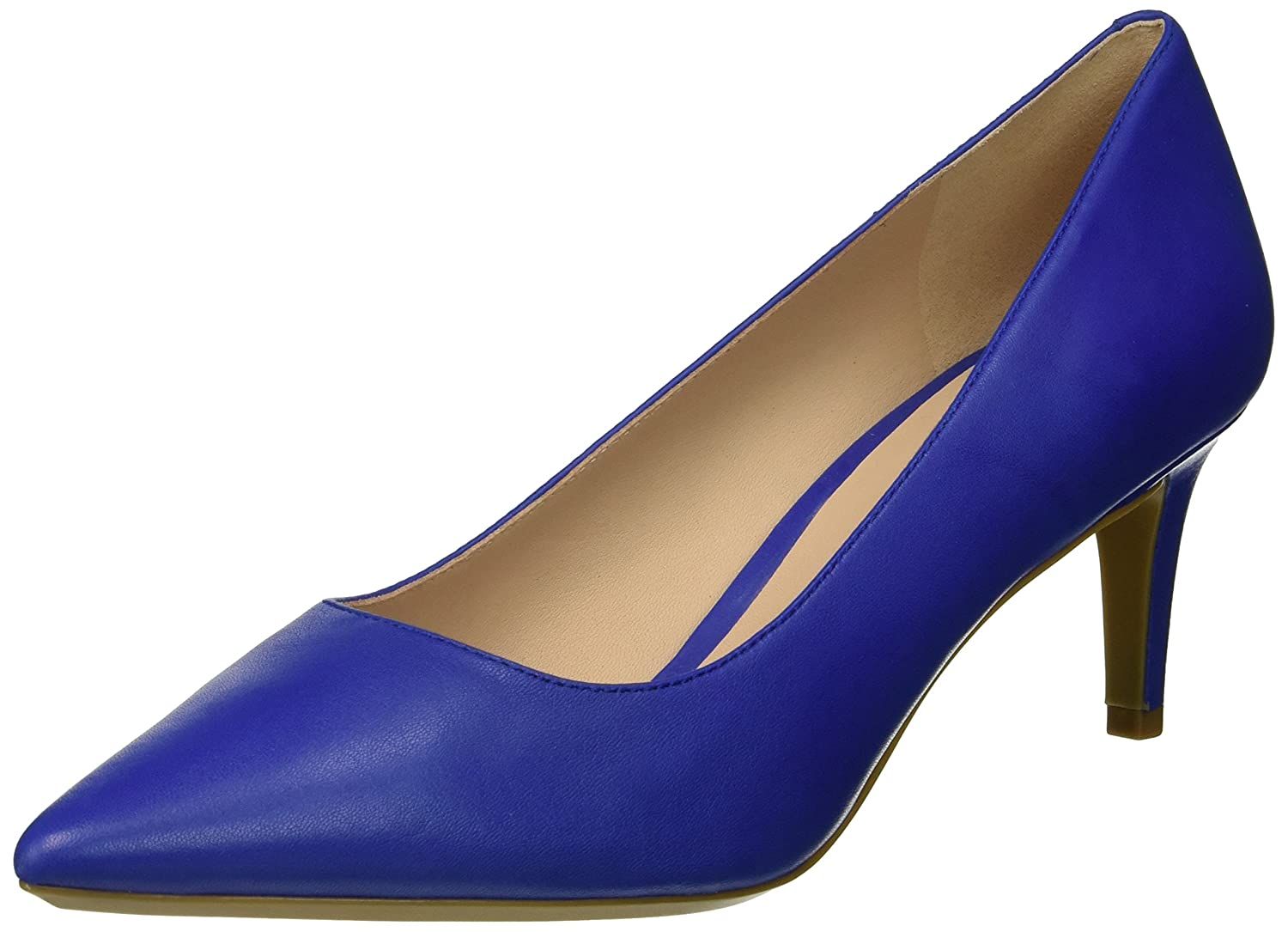 Nine West Women's SOHO9X9 Leather Pump B076FJFZ5V 9.5 B(M) US|Blue