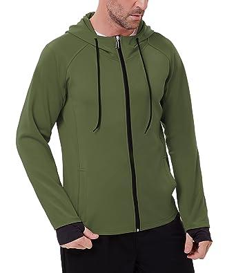 c9e28e62fbc0 PAUL JONES Men s Slim Fit Zip-up Hoodies Performance Training ...