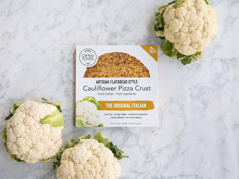 Cali\'flour Foods Gluten Free, Low Carb Califlower Original Italian ...
