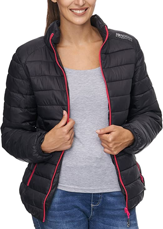 Geographical Norway Giacca Piumino Donna: Amazon.it