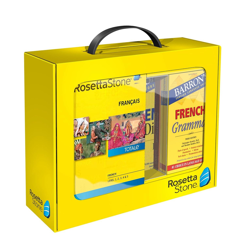 Rosetta Stone - Learn French (Level 1, 2, 3, 4 & 5 Set) Program Cost
