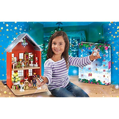 PLAYMOBIL 70383 Large Advent Calendar - Christmas in The Town House - New 2020: Toys & Games
