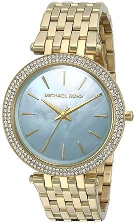 Michael Kors Reloj analogico para Mujer de Cuarzo con Correa en Acero Inoxidable MK3498