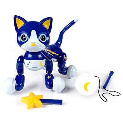 Zoomer Kitty Midnight Exclusive: Toys & Games