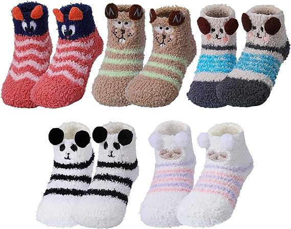 Nuevos calcetines abrigados bebé unisex recién nacido niños niñas bebé lindo