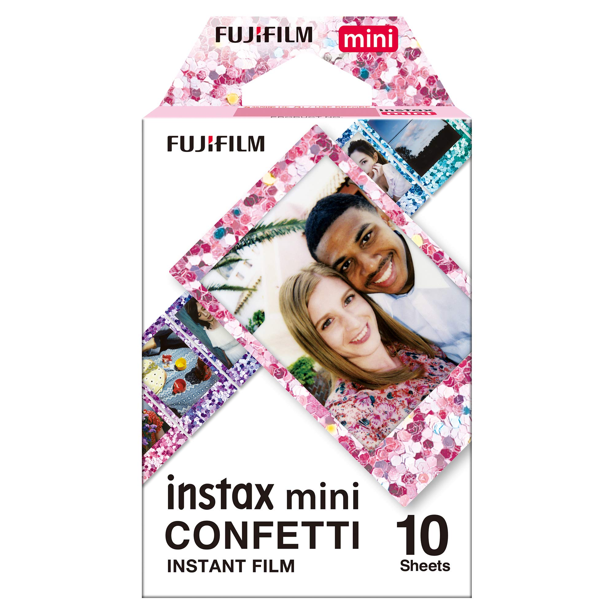 Fujifilm Instax Mini Film, Confetti (10 Exposures)