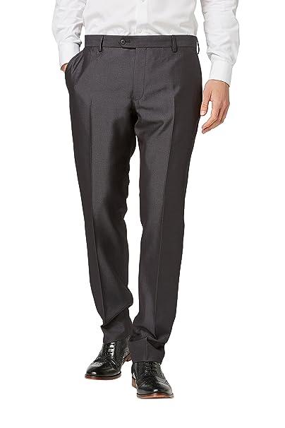 next Hombre Traje Brillante: Pantalones Corte Sartorial ...