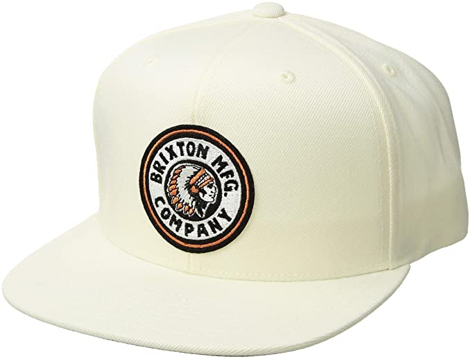 Brixton Mens Rival Medium Profile Adjustable Mesh Hat Cap