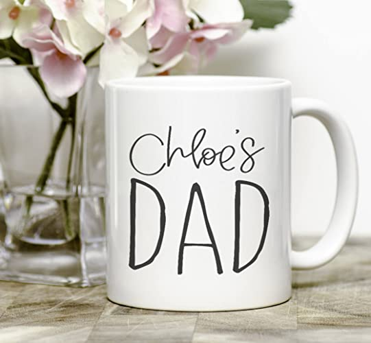 Amazon Custom Dad Mug New Gift From Kids