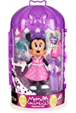 IMC - 182196 - Minnie Fashionista Shopping Fig - Disney, 15 cm
