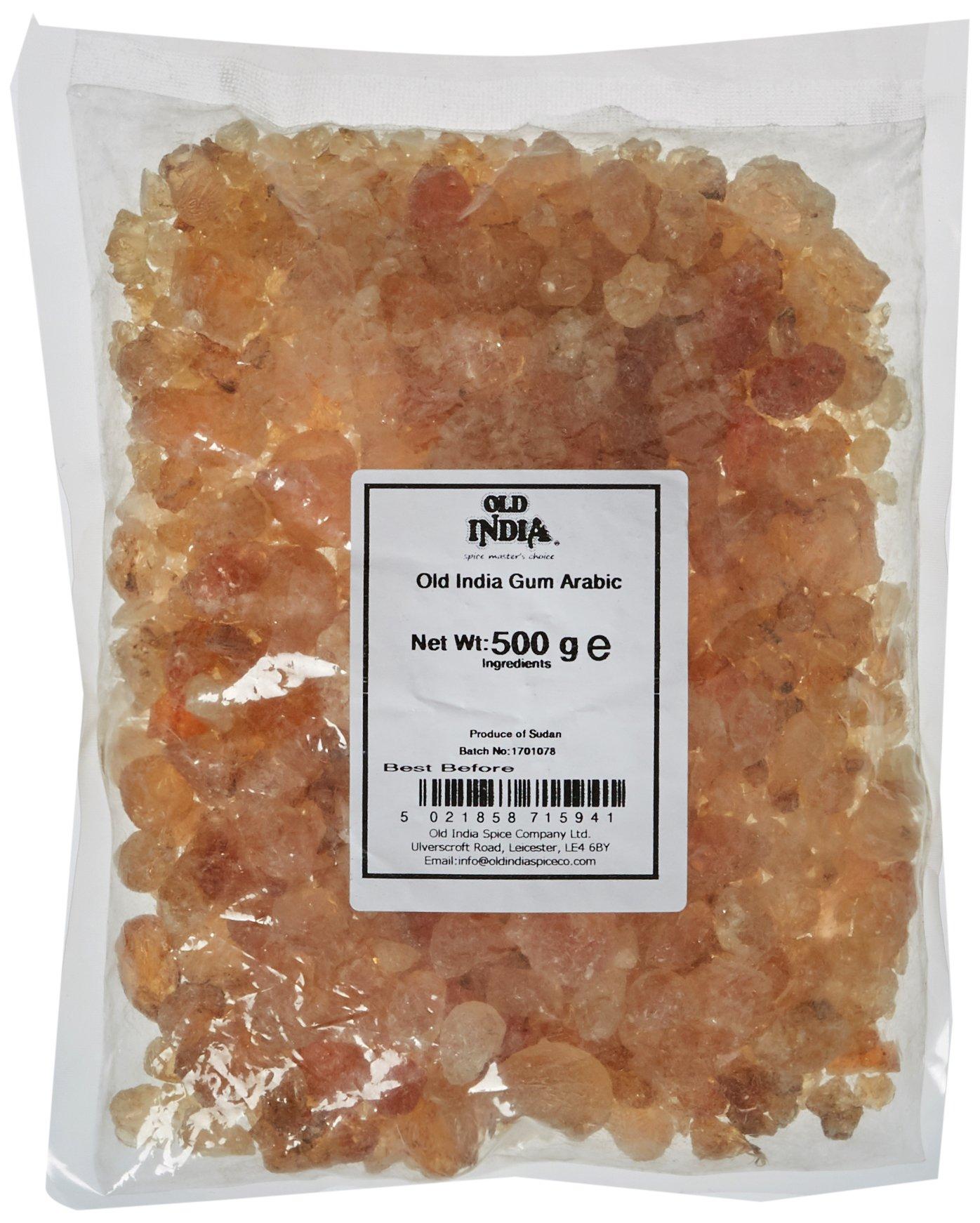 Old India Gum Arabic 500 g